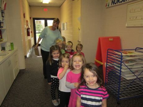 student classes -class schedules Rocky River Presbyterian Nursery School Ohio